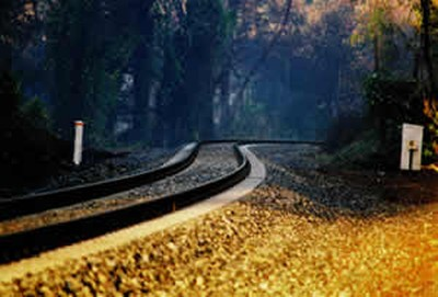 The railroad tracks that run through Vinings, a unique four-square mile area in metro Atlanta, that I call home.