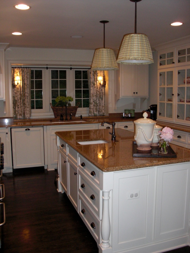 A kitchen designed and remodeled by Lauren and Greg DeLoach of Cottage Industry Construction in Atlanta.