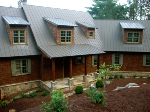 A custom home built by Greg DeLoach of Cottage Construction Industries in Atlanta.