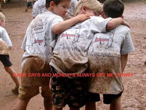 """A """"real"""" camp experience, including a good old fashioned mud game, can be had at Josh Powell Summer Day Camp"""