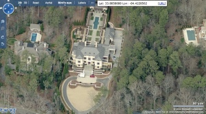 The most expensive home sold in Atlanta year to date, 981 Davis Drive, former home to Walter Reames, now home to Texas oil family, Erin and Al Hill III.