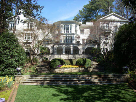 Among the most beautiful landscape in all of Buckhead, the previous home of Arthur Blank on Tuxedo Road has sold.