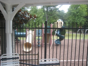 The playground at the Cochise Club in Vinings.