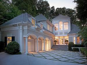 Beautiful homes are for sale in Vinings, a four-square mile area of metro Atlanta.