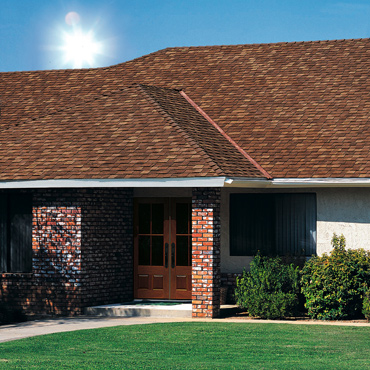 Landmark Solaris™, a new solar reflective roofing shingle.