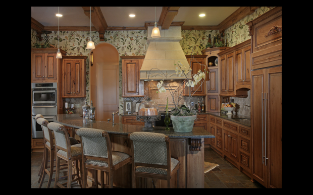 The main kitchen - one of many at 811 Hawks Nest Court.  Listed for sale by Tina Hunsicker of Atlanta Fine Homes Sotheby's International Realty. Offered at $9.8 million.  Click on the image for more photos of this property.