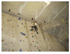 A great outlet for all that holiday energy - an indoor climbing gym called Atlanta Rocks!
