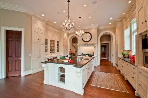 The kitchen in the recently sold 2750 Habersham Road in Buckhead.