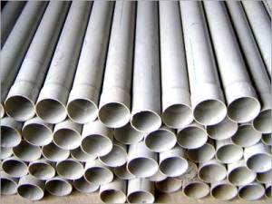 PVC pipes are being used in new construction rather than copper tubing, which is subject to being stolen.