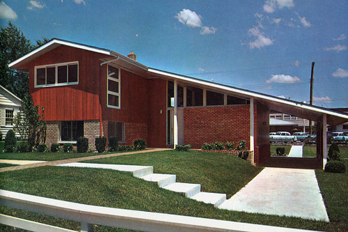 Split-level homes, with many steps, have lost market appeal.  Why they are not appealing: This darling of the 1950s, 60s and 70s is outdated and complicated to maneuver with steps at nearly every turn.Photo: flickr | Sportsuburban