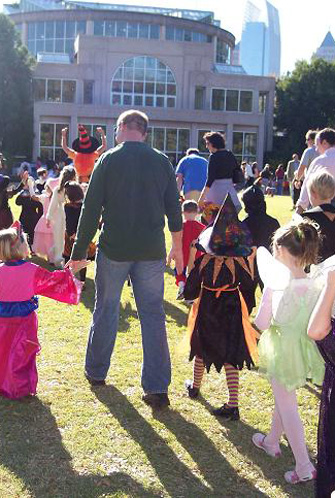 Sunday, October 28 from 10 a.m. - 4 p.m. Bring young goblins dressed in their Halloween best and enjoy musical performances, pumpkin decorating, a ride-on-train, games, pony rides, tricks, treats and more!