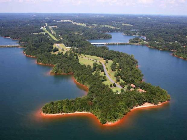 The Peninsula at Lake Hartwell is listed by Atlanta Fine Homes Sotheby's International Realty, and is among the most expensive homes currently for sale in the Atlanta Metro area. List price: $17,500,000.  Click here for more information and additional photos.