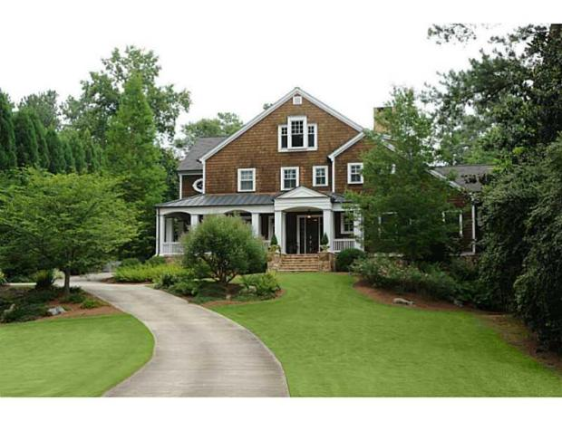 A Buckhead treasure, this home at 3111 Ridgewood is under contract. The original list price was $2,485,000. The buyer is represented by Tina Hunsicker. IMAGE: FMLS.