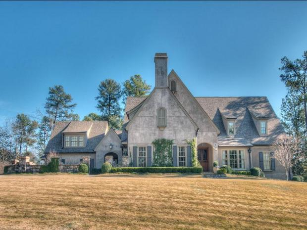 A French provincial home Vinings - in an established neighborhood but new inside and out.  3489 Brandy Station in Atlanta's zip code 30339 is offered at $1,599,900 by Tina Hunsicker.