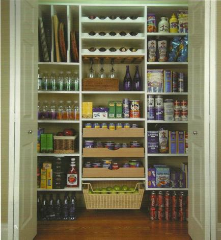 This is a great pantry for large quantities! The closet company is based out of Missouri.