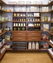 This walk-in pantry seems to have it all. I love the drawers and the wood finishes!This walk-in pantry seems to have it all. I love the drawers and the wood finishes!