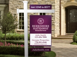 By the end of the year, metro Atlanta will be seeing the new Berkshire Hathaway HomeServices sign - with my name on it!