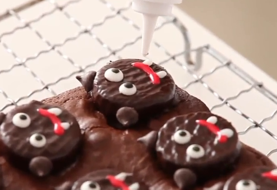 Martha Stewart Scaredy-Cat Brownies