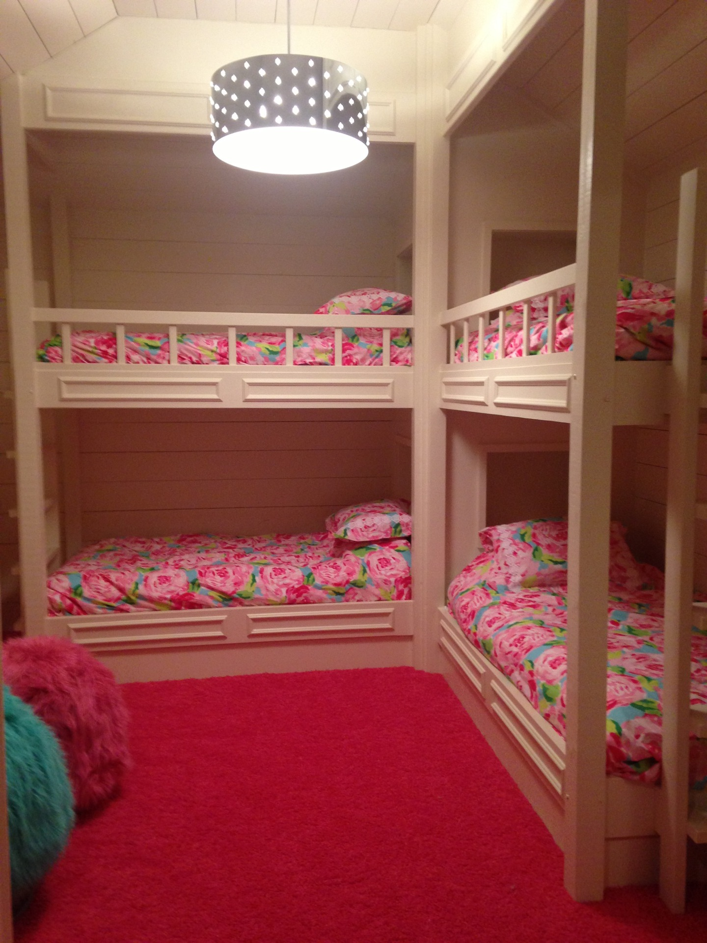 Built in bunk beds real vinings buckhead Bunk room designs