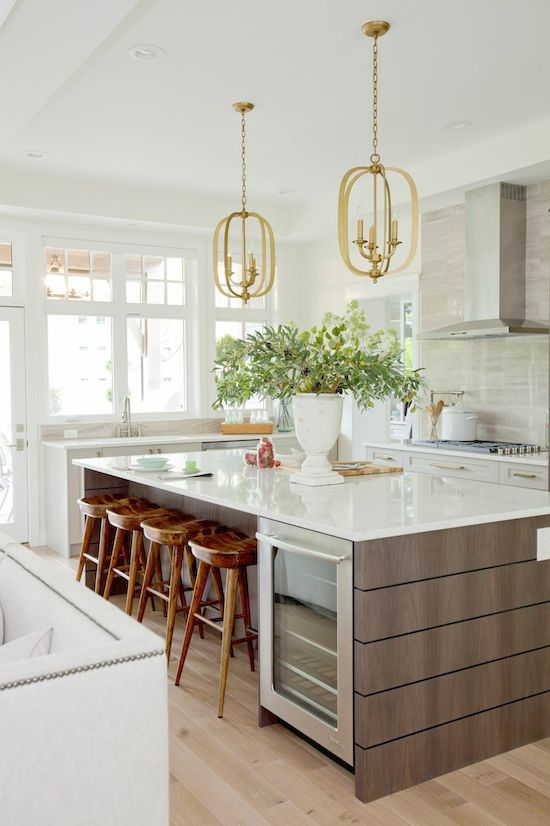 Whatever your personal style, creating a dream kitchen is all about planning and details! photo credit: designhunterla.com