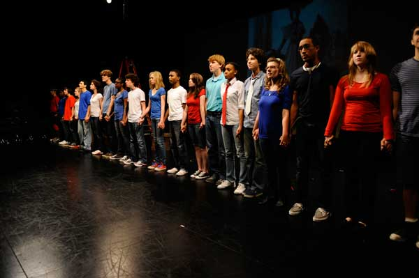 Alliance Theatre has drama camps including this musical theatre session. photo credit: clatl.com