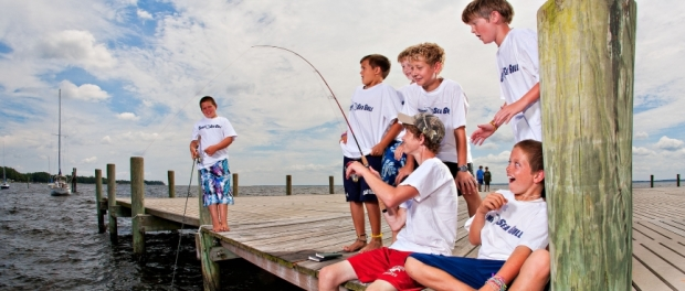 Fishing at Camp Seagull-Seafarer photo credit: www.seagull-seafarer.org