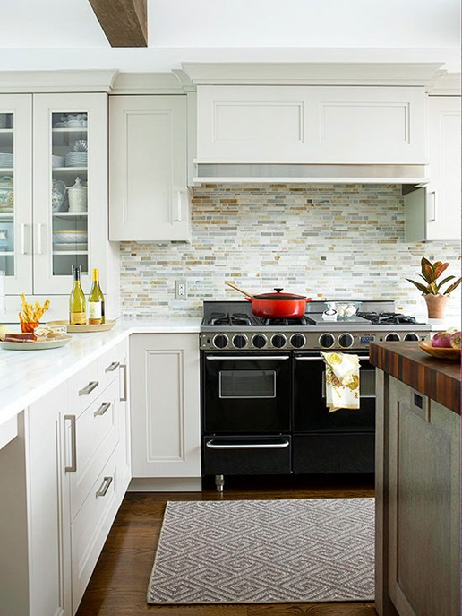 Deep drawers under the counters are beautiful and convenient photo credit: Cheryl M. Photography