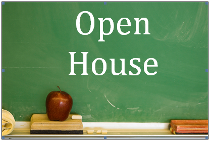 Image result for school open house schedule