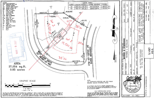 screenshot site plan