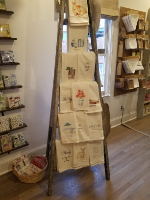 Unique stationary, tea towels, and gifts